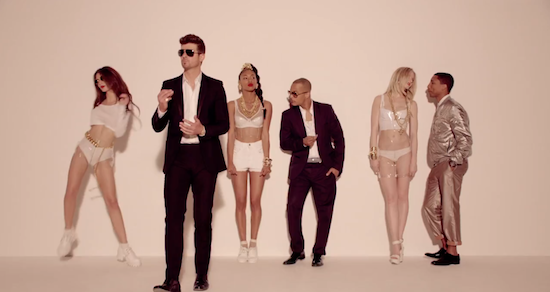 Blurred Lines copied Marvin Gaye.