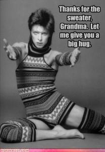 David Bowie funny photo