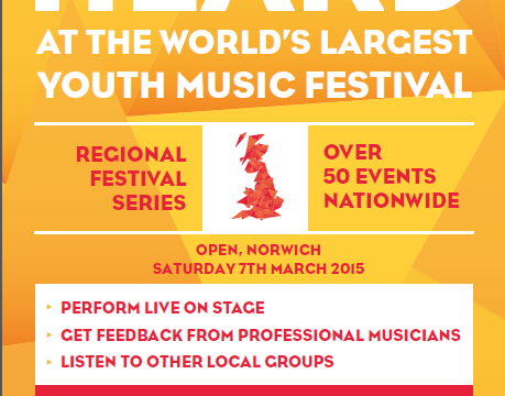 Young people wanted for talent competition